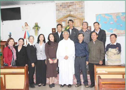 Lớp Vô Nhiễm mừng Bổn mạng tại TTMV