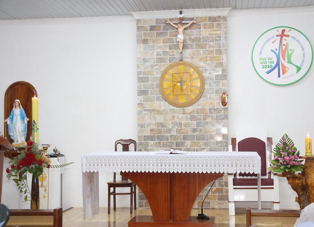 Thư mời Thánh lễ tháng Tám 2020