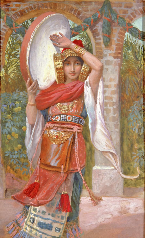 Giptác Jephthah's Daughter