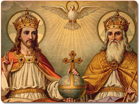 Hình ảnh Thiên Chúa Ba Ngôi