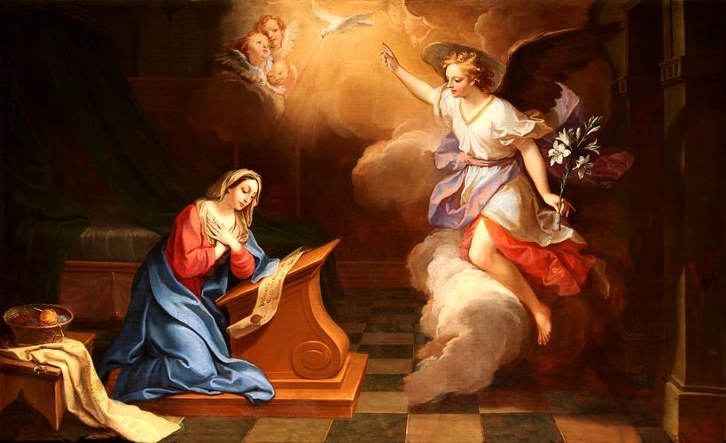 GIUSE TRONG MẦU NHIỆM CỨU CHUỘC : Trinh Nữ Maria