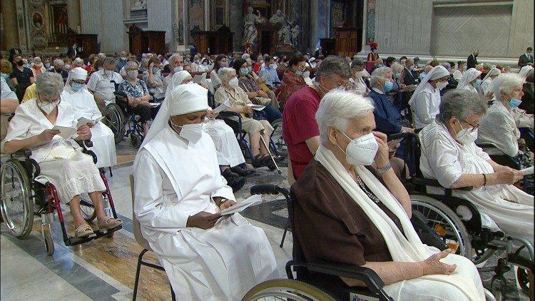 Thánh lễ Ngày Người cao tuổi tại Vatican