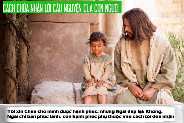Cách Chúa nhận lời cầu nguyện